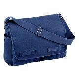 Rothco メッセンジャーバッグ HW クラシック [ ブルー ] ショルダーバッグ かばん カジュアルバッグ カバン 鞄 ミリタリー 帆布 斜めがけバッグ