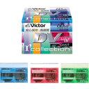 Victor ミニDVテープ60分 3巻パック カラースケルトン M-DV60DHX3