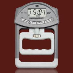 BPS 電池企画販売 デジタル握力計デジタルハンドグリップメーター BPS-H77G (グレー)(12台セット)