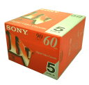 SONY ミニDVテープ60分 5本パック 5DVM60R3×5個(25本)セット