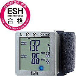 日本精密測器(NISSEI)手首式デジタル血圧計...の商品画像