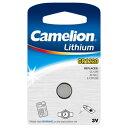 【使用推奨期限 2018年10月】Camelion カメリオン ボタン形リチウム電池 Micro Batteries CR1220-BP1