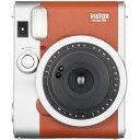 (フィルム20枚セット)富士フイルム インスタントカメラチェキ instax mini 90 ネオクラシックブラウン フィルム20枚付
