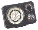 ミザール(MIZAR) 気圧表示付高度計・温度計・コンパス・ミニライト NO.1230 【お取り寄せ】