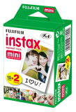 FUJIFILM チェキ用フィルム 2本パック instax mini 2PK(20枚)
