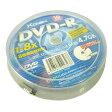 【送料無料】■DVD-R 8倍速記録可能 4.7GB 10枚パック XD-4.7PL8X-10SP■10枚入り/120分/4.7GB/1-8X/1回記録用/AZO色素使用/8倍速/