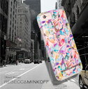 送料無料 iPhone6s/iPhone6 Rebecca Minkoff(レベッカ・ミンコフ)Naked Tough Print【Kaleidoscope/クリア】送料無料 あす楽対応 rebecca minkoff レレベッカ ミンコフ iphone6ケース アイフォン6 ケース レベッカミンコフ10P03Dec16