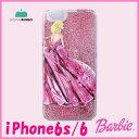 iPhone6s/6 Barbie Design Glitter Print Hard Case ピンク あす楽対応アイフォンケース ラメ スマホケース キラキラ ラメ バービー アイフォン6ケース iPhone6ケース ブランド iPhone6sケース バービー iphone アイフォンケース グリッター バービー barbie 10P03Dec16