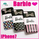 iPhone7 Barbie Design Ribbon Print Hard Case(あす楽対応)【DM便不可】【バービー iphone7 ケース iphone7 iphone iphone iphone7ケース スマホケース カバー スマートフォン スマホカバー アイフォン7ケース ブランド カード収納 ICカード】10P01Oct16