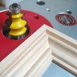 ルーター ビット フェイスモールディング カッター ( ダブル ビート ) 1/2軸 Microtungsten carbide 【dm08007】