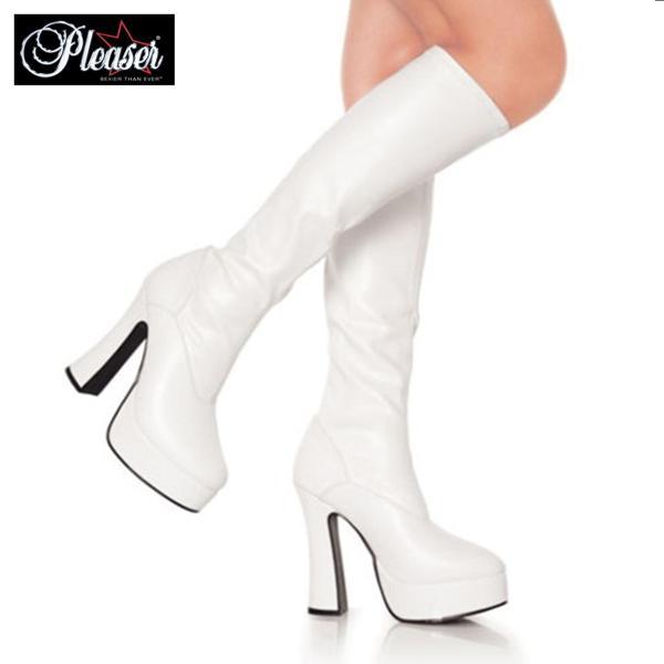 取寄せ靴 送料無料 コスプレ 厚底ロングブーツ ...の商品画像