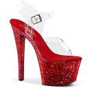 ショッピング大きいサイズ 取寄 送料無料 PLEASER プリーザー サンダル 18cmヒール 大きいサイズ 靴 イベント セクシー サンタ 女装 パーティ- クリスマス コスプレ 衣装 シューズ SKY-308LG SKY308LG/C/RG