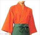 作務衣 EC3126-3(男女兼用)橙 S