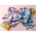 ベッド 寝具 布団 パジャマ 寝具小物 ネグリジェ 日本製 抗菌防臭チェックパジャマ(男女兼用) C32004
