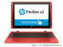 <10.1インチノートPC> HP Pavilion x2 10-n100(T0Z06PA-AABG)(Windows 10 Home/インテル Atom x5...