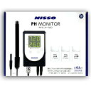 ニッソー PHモニターNEO 高測定精度 水質測定器 NCM-04 ペーハーモニターネオ PH測定
