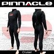 【今ならアマーラグローブプレゼント!全国送料無料!】[男性用]PINNACLE[ピナクル]5mmウェットスーツ足首ファスナー付CRUISER[クルーザー]ウエットスーツ[フルスーツ]Pinnacle aquatics 532P16Jul16