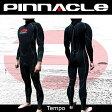 【今ならアマーラグローブ&Tシャツをプレゼント!全国送料無料!】[男性用]PINNACLE[ピナクル]5mmウェットスーツ足首ファスナー付TEMPO[テンポ]ウエットスーツ[フルスーツ]Pinnacle aquatics 0824楽天カード分割