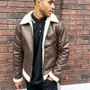 オンリー&サンズ Only & Sons ブラウンのOnly&Sonsアビエータージャケット アウター メンズ 男性 インポートブランド 小さいサイズから大きいサイズまで