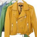 レザージャケット バイカー 洗浄 pu レザー フェイクレザー ワンピースやドレスの上からでも可愛い レディース 20代 30代 40代 ファッ..
