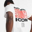 トップマン ホワイト バックプリント Tシャツコーディネート 20代 30代 40代 ファッション コーディネート