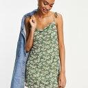 ファッションユニオン Fashion Union 花柄メッシュのカウルネックのファッションユニオンキャミミニドレス ワンピース レディース 女性 インポートブランド 小さいサイズから大きいサイズまで