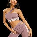 AsYou 藤色のASYOUアクティブカットアウトブラ 下着 レディース 女性 インポートブランド 小さいサイズから大きいサイズまで