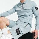ジェイムソンカーターマシューズカーゴポケットショーツブルー パンツ ボトム メンズ 男性 インポートブランド 小さいサイズから大きいサイズまで