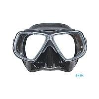 【メール便対応】日本アクアラング AQUA LUNG マイスター マスク ブラックの画像