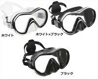 【メール便対応】日本アクアラング AQUA LUNG リヴィール X1マスク(1眼タイプ)の画像
