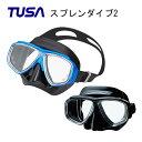 TUSA(ツサ)マスク Splendive 2(スプレンダイブ2)M-7500QB 男女兼用マスク シュノーケリング ダイビング マスク