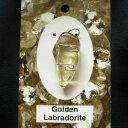 ゴールデンラブラドライトペンダントトップGolden Labradoraite K.Angel 039 s