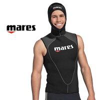 ウェットスーツ メンズ mares フレクサ フードベスト 3mm ダイビング ウエットスーツの画像