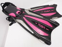 未使用 TUSA SOLLA SF-24 フィン XSサイズ カラー:HP [RYS31595]