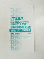 USED TUSA IQ-800 マルチレベルダイビングコンピュータ用取扱説明書 [RY33307]の画像
