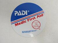 新品 PADI ステッカー Medic First Aid W10xH10cm [RY33555]の画像
