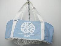 未使用 SAS エスエーエス ミニメッシュバッグ W56×H20×D20cm [J35815]の画像