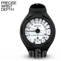 AQUA LUNG(アクアラング) PRECISE WRIST DEPTH GAUGE プレシスリストタイプデプスゲージ(水深計)の画像