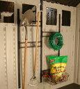 物置 専用オプション ホームデザイン物置 サンキャスト Alpine(アルパイン)専用オプション フック&バスケット (BMSA3B) スチール おしゃれ 収納庫 物置き diy キット 屋外 倉庫 物置小屋 屋外収納庫 保管庫 ガーデン用品 SUNCAST アメリカ製