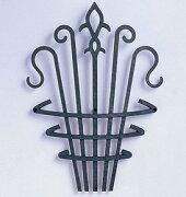 アルミ鋳物 妻飾り(オーナメント) コーベルタイプ【ニチハ】(FFA5288 ブラック)