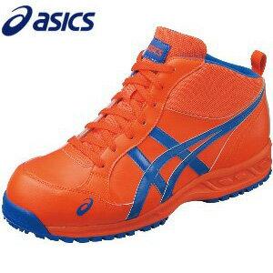 [アシックス] asics 安全靴 スニーカー ウィンジョブ 35L ハイカット オレンジ…...:diy-liebe:10154461