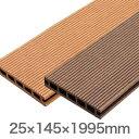 ルチアウッド 床板 面材 25×145×1995mm(6.0kg)