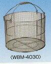 ステンレス洗浄カゴ 丸型 WBM-4030