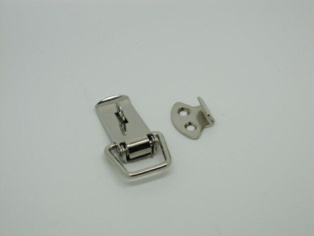ステンレス パッチンP−21 南京錠取付穴付
