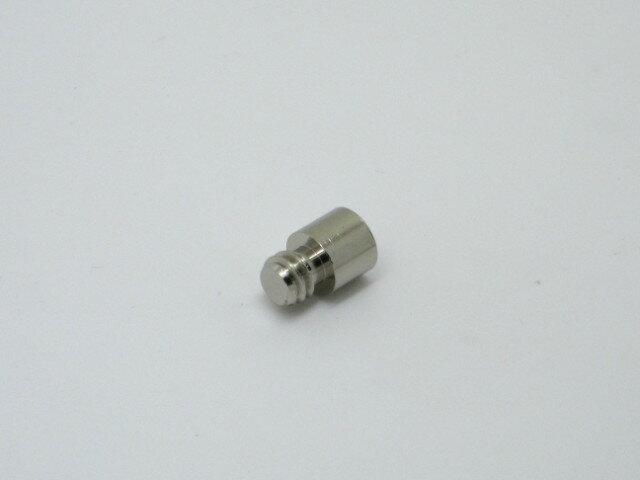 【メール便可】 ネジW1/4 ダボ棚受 Φ8×6.5mm オン 1個入