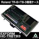 Roland AIRA TR-8とTB-3専用ハードケース