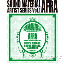 Sound Material Artist Series Vol.1 BY AFRA