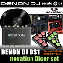 DENON DJ DS1 + novation Dicer DJ set 【パーフェクトガイド付き!】