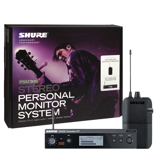SHURE (シュア)P3TR PSM300 SYSTEM, WITHOUT EARPHONES 【国内正規2年保証】【期間限定タイムセール】