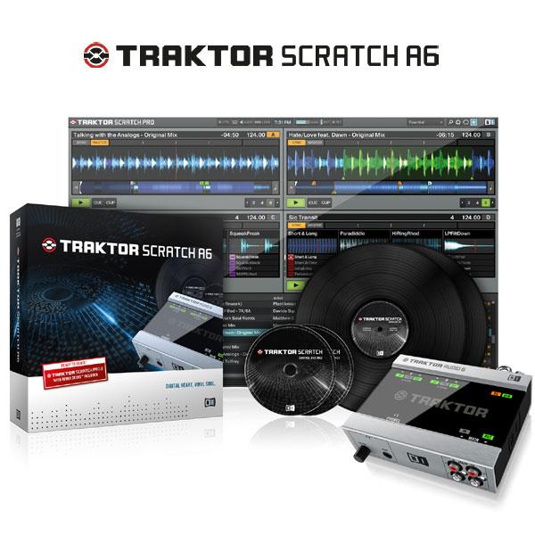Native Instruments TRAKTOR SCRATCH A6 【代引き手数料/送料無料】 【セール特価】